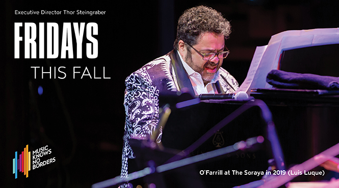 Fridays This Fall: Fandango at the Wall with Arturo O'Farrill